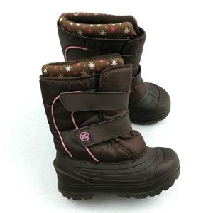 Rugged Outdoors Snowflake Snow Boots Size 11